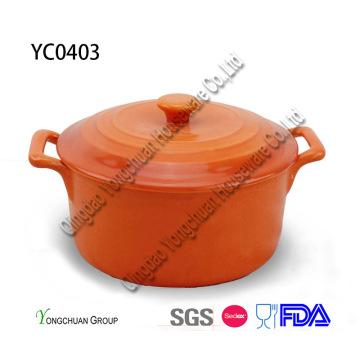 Ceramic Non-Stick Casserole with Lid for Wholesale