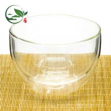 Recipiente de vidrio doble de Matcha, Glasschale, Cam Kase, Bol En Verre