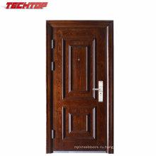 ТПС-050 хорошего качества и готовой поверхностная отделка стальной одиночный входные двери