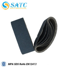 Wholesale abrasif zirconium ceinture de ponçage pour enlever la rouille