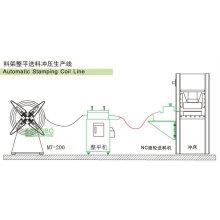 Línea de presión automática para borrar