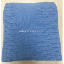 Factory Wholesale Portable Cotton Thermal Blanket For Single Bed
