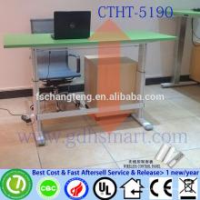 ausziehbare runde Tische höhenverstellbar Laptop Schreibtisch Esstisch Holz Marmorplatte