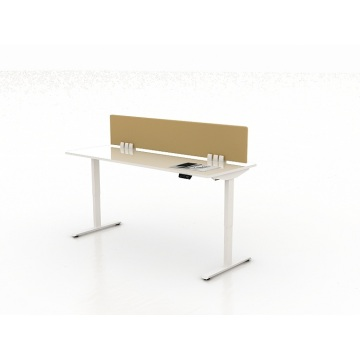 Electric height adjustable table desk frame