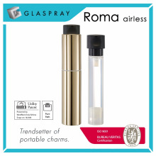 ROMA Twist up TUA 30ml Botella de la bomba de la loción Airless recargable