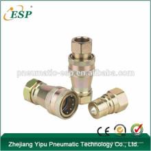 ISO 7241-A Close Type Schnellverschluss-Wellenkupplung aus Messing (Stahl)