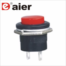 16mm Big Size 4Pin SPST 250VAC Momentary Plastic Button Switch
