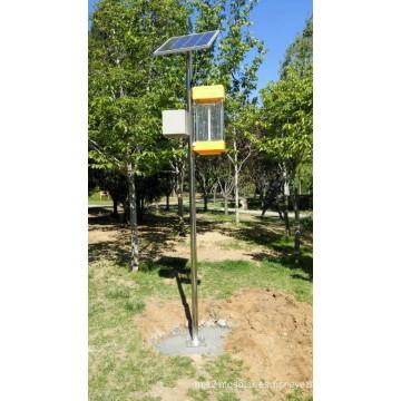 Eco-Friendly Solar Powered LED Solar mosquito asesino / insecticida mosca trampa lámpara