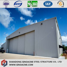Steel Pre Engineered Structure for Aircraft Hangar