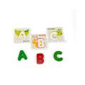 Amazon hot sale educaltion color animal de madera rompecabezas 3d
