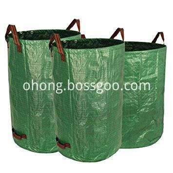 Tarpaulin bag garden bag with handles