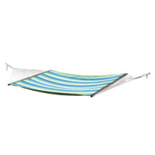 Uplion MH-8041 outdoor furniture leisure camping striped hammock