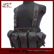 Paintball-Ak Magazin Brust Rig tragen Weste für CS Airsoft Weste