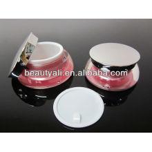 Tarro de crema cosmética de acrílico de la vieira 30g 30g