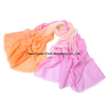 Lady Fashion Polyester Large Gradient Scarf