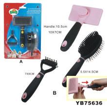 Pet Grooming herramienta, cepillo de limpieza (YB75636)