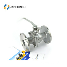 JKTLFB028 tangki air a216 wcb 2 pc stainless steel bola katup
