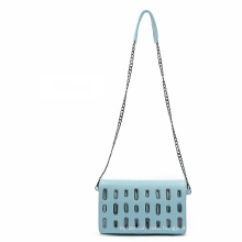 Eyelet Stub Designer Fashion Crossbody Bag