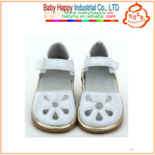 Großhandel bunte Kinder Blütenblatt quietschende Schuhe