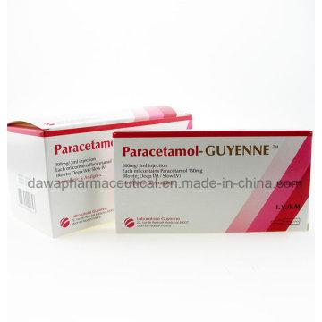 Paracetamol-Guyenne 600 mg / 5 ml Injectioneach Ml contiene Paracetamol inyección 120 mg