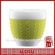 Taza de té japonesa de cerámica, tazas de té japonesas de la porcelana