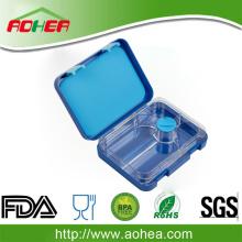Hot bán FDA/LFGB Tritan tái sử dụng 4 ngăn Leakproof Bento ăn trưa hộp đựng
