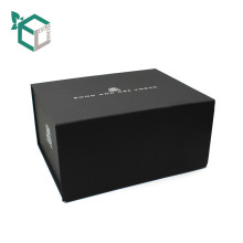 wholesale black rigid black gift cigar paper boxes