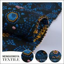 Costume oem Designer moda tecido tecido jacquard estofos