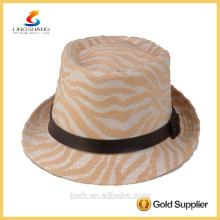 DSC 0005 LINGSHANG Papel de moda panamá sombrero de paja
