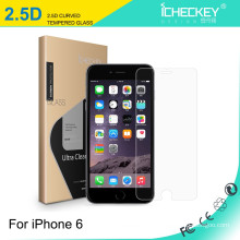 HD vidro temperado celular uso filme de vidro temperado para iPhone6