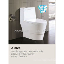 Ovs Ceramic Bathroom Best Design Sanitary Ware Siphonic One/1Piece Bathroom Toilet