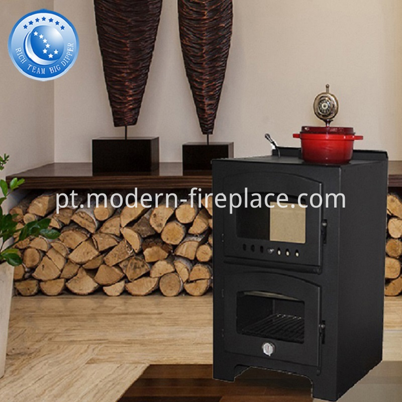 Wood Stoves of Contemporary Kitchen Factory