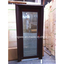 Single Galsss Stainelss Steel Door