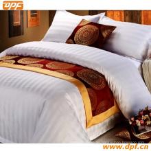100% poliéster personalizada bufanda cama de hotel (DPF2670)