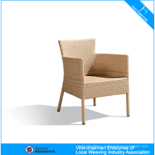 Power coated aluminum outdoor rattan arm chair