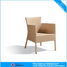 Мощность покрытием алюминиевой открытый ротанга кресло