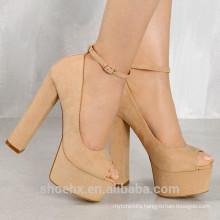 Chengdu wholesale fashion 15cm ladies super high heel shoes