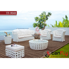 luxury outdoor furniture wicker sofa modern style rattan sofa