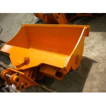 Cubo de inclinación de excavadora TEREX, cucharón de inclinación para excavadora