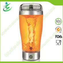 500ml Protein Electric Shaker, Edelstahl Protein Shaker Flasche