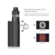 Alibaba Starter Kit 50W black mod cheap electric cig 900mah vaporizer