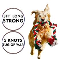 Игрушки для собак с веревкой для агрессивных жевателей