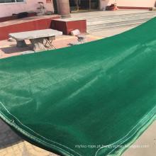 Rede de sombra mono verde escura de 125GSM