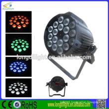 NEW led par light rgbw LED stage light 18*9w indoor & outdoor PAR light
