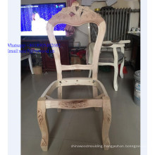 wholesale  unfinished Wooden  Sofa Frame furniture frame carving wood Chair Frame in stock