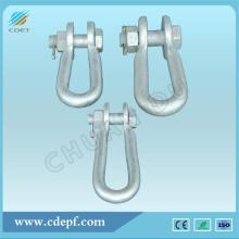 Factory directly for Link Fitting,Link Fitting For Substation,Connecting Fitting,Link Fitting For Power Plant Manufacturers and Suppliers in China Connecting Fitting U Type Shackle​ supply to Panama Wholesale