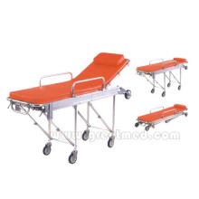 Camilla de ambulancia médica hospital uso