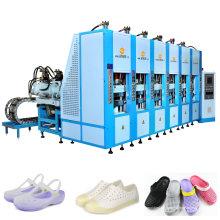EVA-Pantoffel-Schuh, der Maschine herstellt