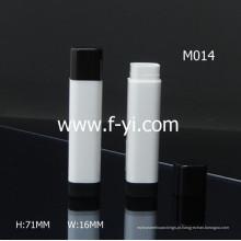 Fashon Color Vacuum Plastic Square Lip Balm Tube