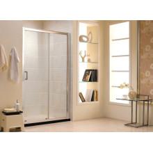 Австралийское стандартное закаленное стекло Раздвижные двери ванной экран (F13)
